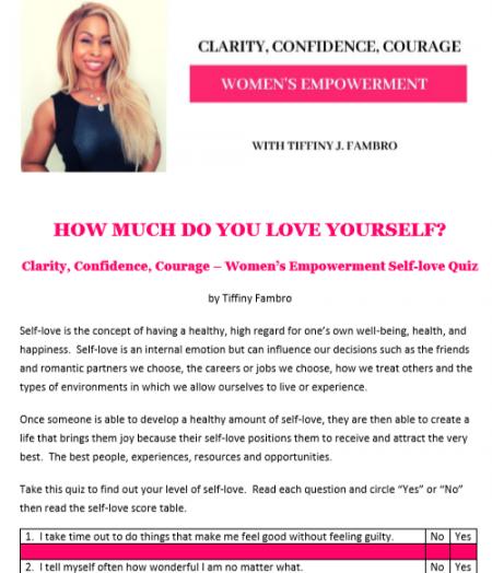 self-love quics