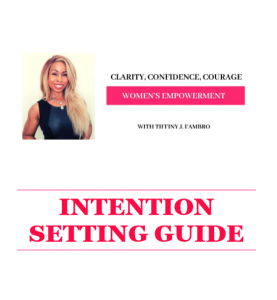 Intention Setting Guide
