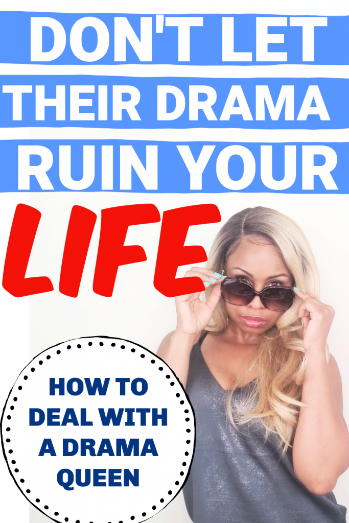 woman being dramatic in sunglasses